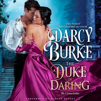 Audiobook cover for The Duke of Daring by Darcy Burke