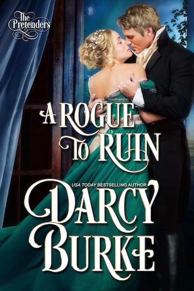 Book cover for A Rogue to Ruin by Darcy Burke