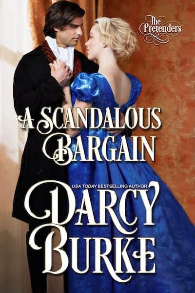 Book cover for A Scandalous Bargain by Darcy Burke