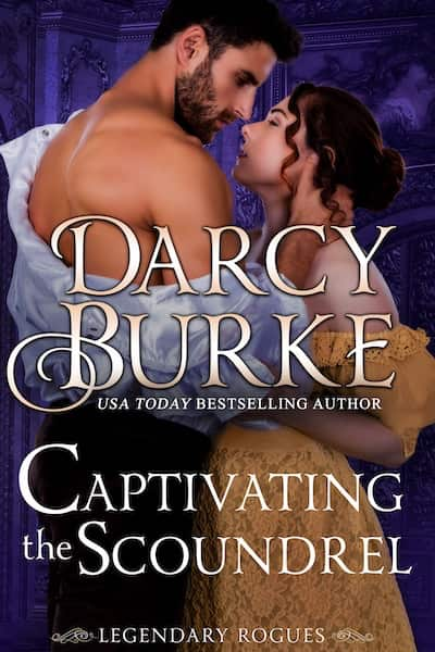 Book cover for Captivating the Scoundrel by Darcy Burke