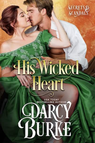 Book cover for His Wicked Heart by Darcy Burke