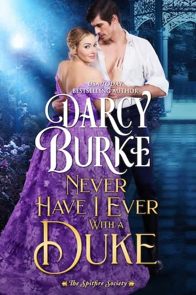 Book cover for Never Have I Ever With a Duke