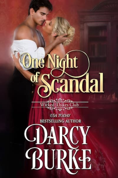 Book cover for One Night of Scandal by Darcy Burke