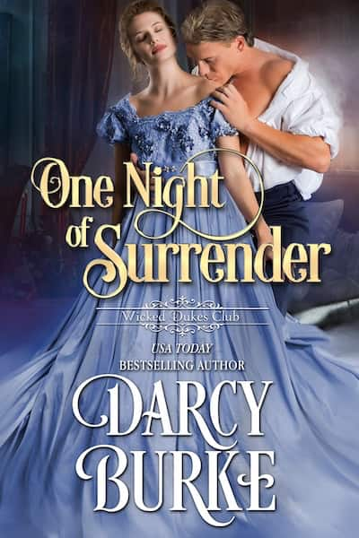 Book cover for One Night of Surrender by Darcy Burke