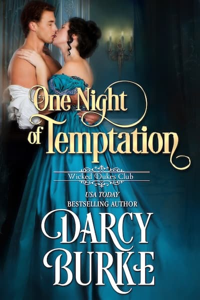 Book cover for One Night of Temptation by Darcy Burke