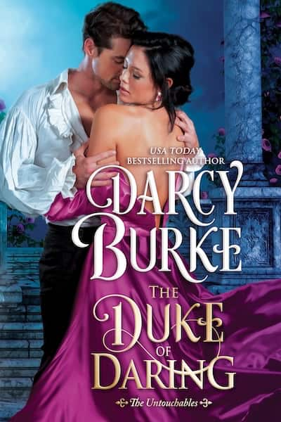 Book cover for The Duke of Daring by Darcy Burke
