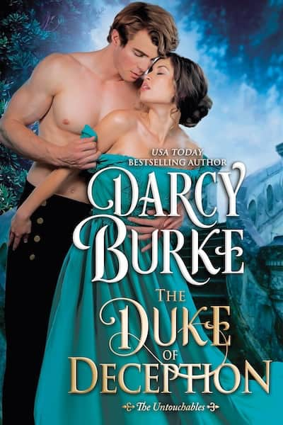 Book cover for The Duke of Deception by Darcy Burke