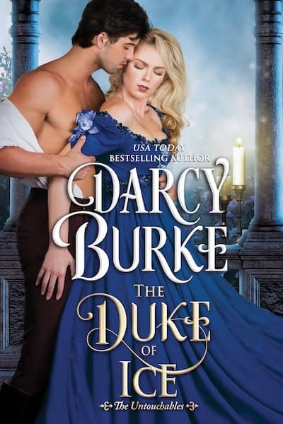 Book cover for The Duke of Ice by Darcy Burke