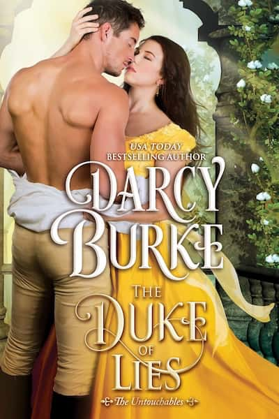 Book cover for The Duke of Lies by Darcy Burke