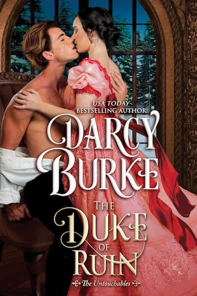 Book cover for The Duke of Ruin by Darcy Burke