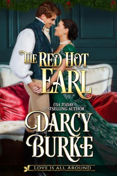Book cover for The Red Hot Earl by Darcy Burke