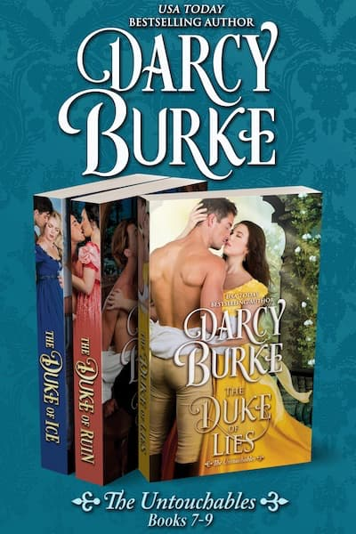 Book cover for qThe Untouchables Books 7-9 by Darcy Burke