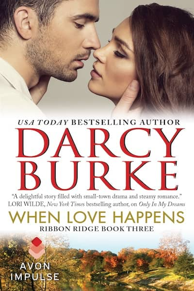 Book cover for When Love Happens by Darcy Burke