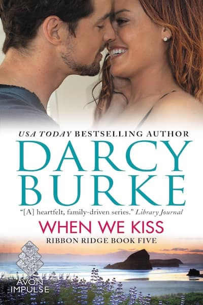Book cover for When We Kiss by Darcy Burke